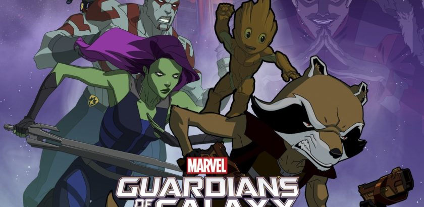 guardians of galaxy - cover