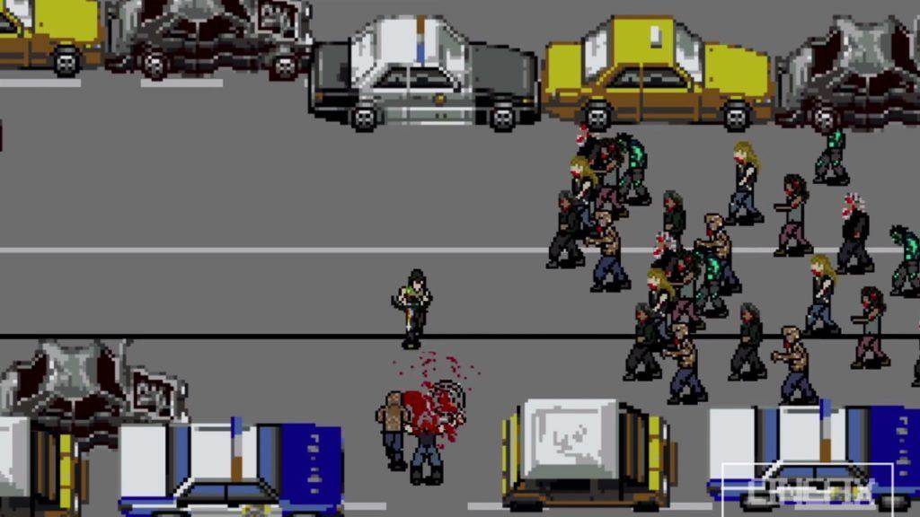 The Walking Dead 8 Bit - Road Kill 1280