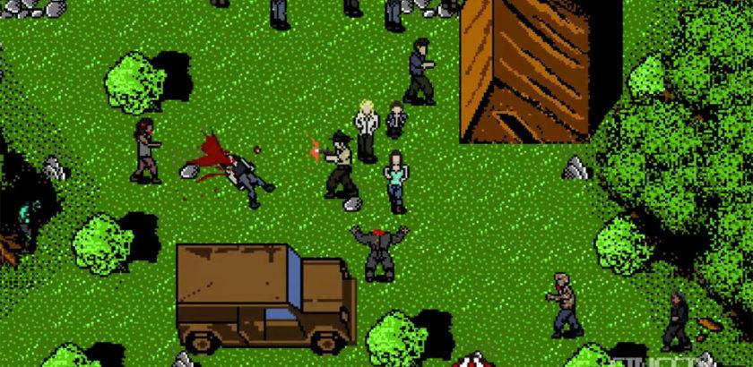 The Walking Dead 8 Bit - Happy Campers